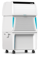 Symphony 55 L Room/Personal Air Cooler  (White, Touch 55)
