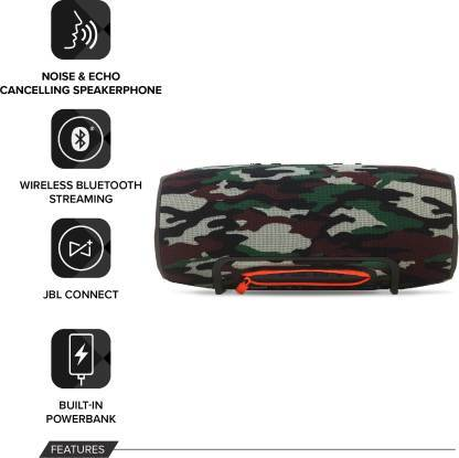 JBL Xtreme Portable Bluetooth Speaker  (SQUAD, Stereo Channel) - DefenceElectronics