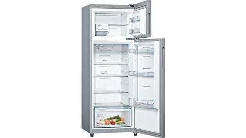 Bosch 288 L 3 Star Frost-Free Double Door Refrigerator with Metallic Look and Inverter Compressor KDN30VL30I - DefenceElectronics