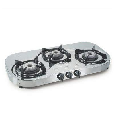Glen 3 Burner Stainless Steel Gas Stove 1035 High Flame - DefenceElectronics
