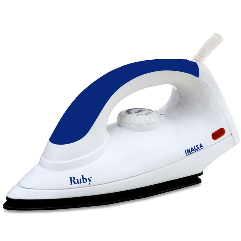 Inalsa RUBY 1000 W Dry Iron  (PURPLE & WHITE) - DefenceElectronics