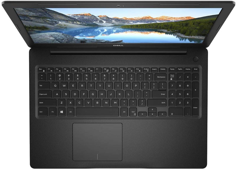 DELL 3581 Inspiron (3581-INS-1234-BLK) Clamshell Laptop, Intel Core i3-7020U, 15.6 Inch, 1TB, 4GB RAM, Intel® HD Graphics 620, Win10, Eng-Ara KB, Black - DefenceElectronics