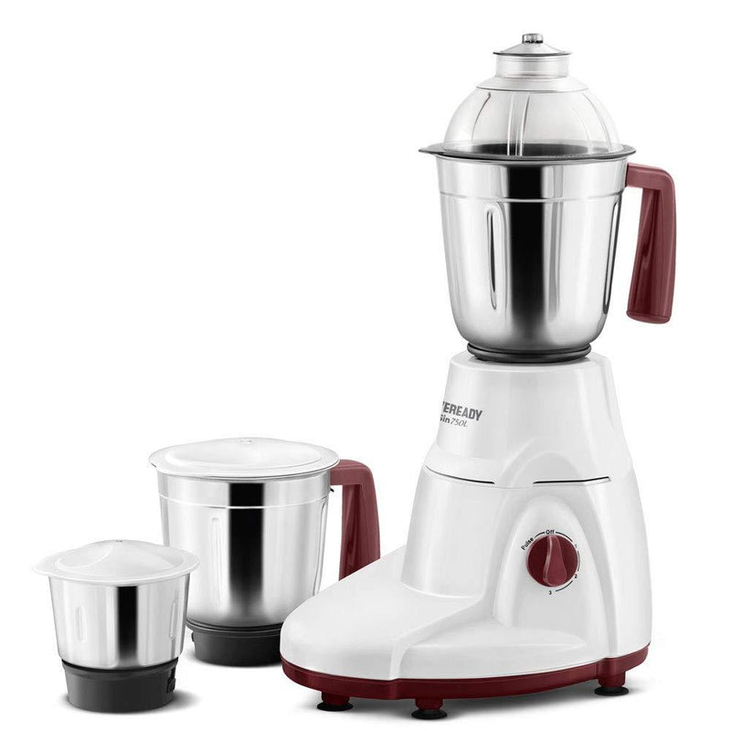 Eveready Sin750L Mixer Grinder with 3 Jars - DefenceElectronics