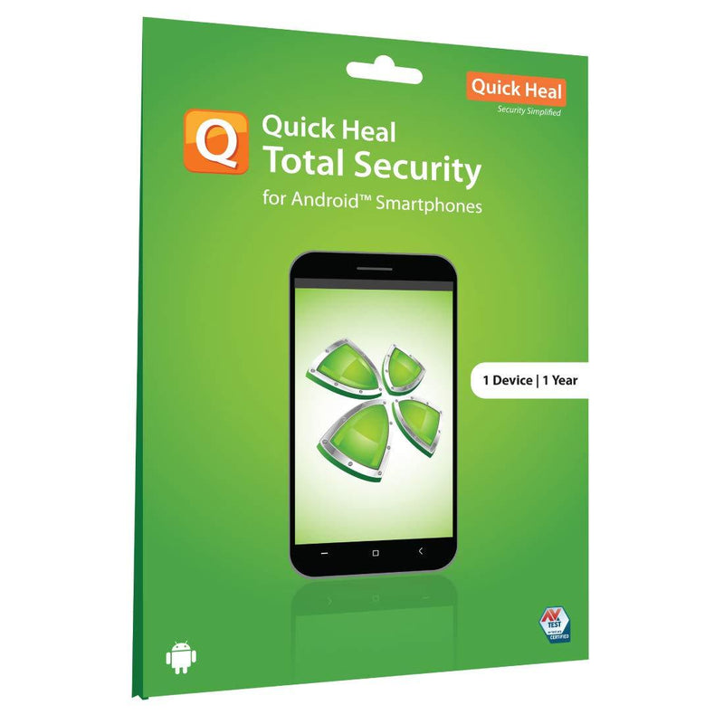 Quick Heal Total Security for Android (Mobile & Tablets) 1 User 1 Year - DefenceElectronics
