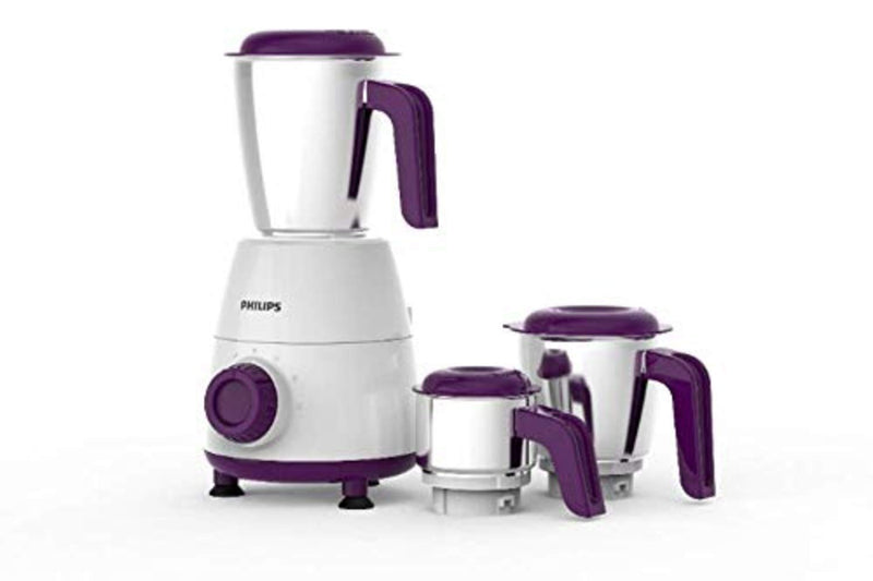 Philips Daily Collection HL7505/00 500-Watt Mixer Grinder with 3 Jars