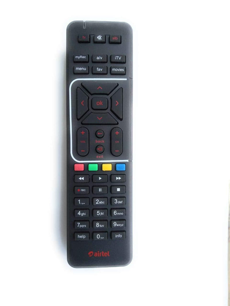 AIRTEL DIGITAL TV HD SETUP BOX REMOTE - DefenceElectronics