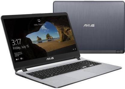 Asus Vivobook Core i3 7th Gen - (4 GB/1 TB HDD/Windows 10 Home) X507UA-EJ836T Thin and Light Laptop  (15.6 inch, Light Grey) - DefenceElectronics