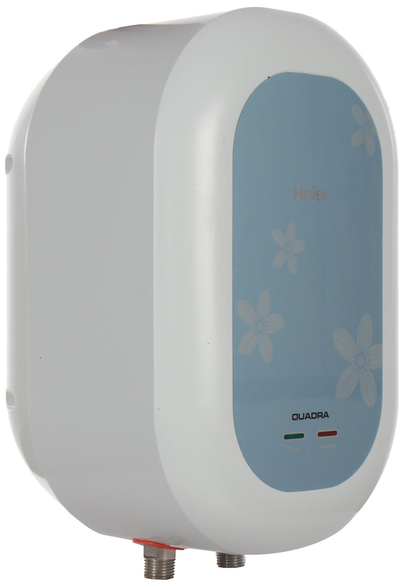 Haier ES3V-C1 3-Litre Water Heater (White/Blue)