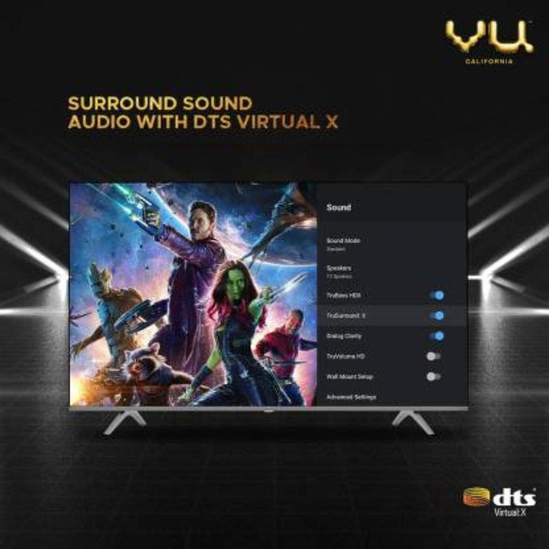 Vu Premium 139cm (55 inch) Ultra HD (4K) LED Smart Android TV (55PM) - DefenceElectronics