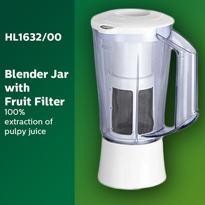 Philips HL1632 500-Watt 3 Jar Juicer Mixer Grinder with Fruit Filter