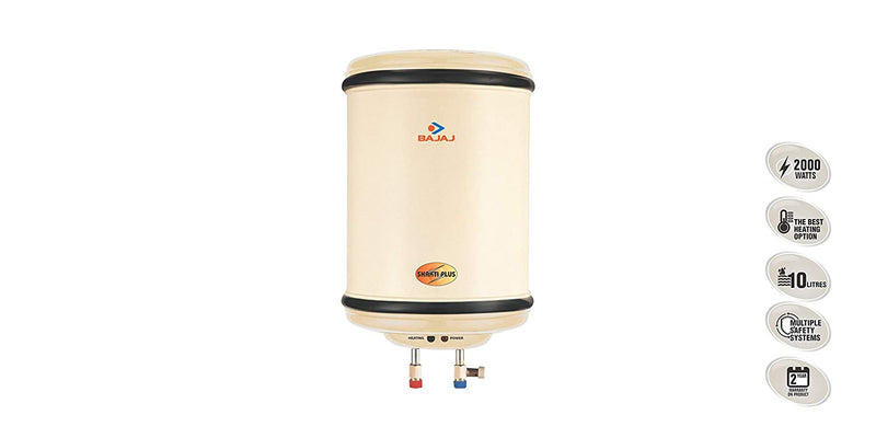 Bajaj 25 L Storage Water Geyser (25ltr shakti plus, White, Iveory)