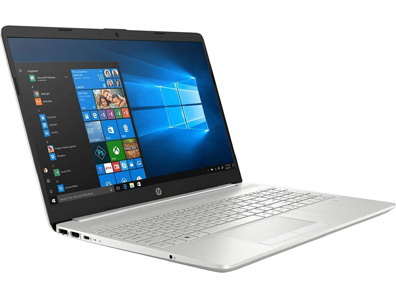 HP 15 10th Gen Intel Core i5 Processor 15.6-inch FHD Laptop (8GB/1TB HDD/Win 10 Home/MS Office/Finger Print Reader/Natural Silver), 15s du1034TU