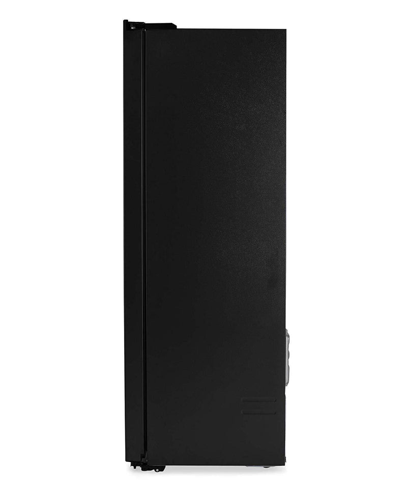 Haier 560 L Inverter Frost-Free Side-By-Side Refrigerator (HRF-619KG, Black Glass) - DefenceElectronics