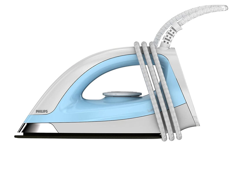 Philips GC157/02 1100-Watt Dry Iron (White/Blue)