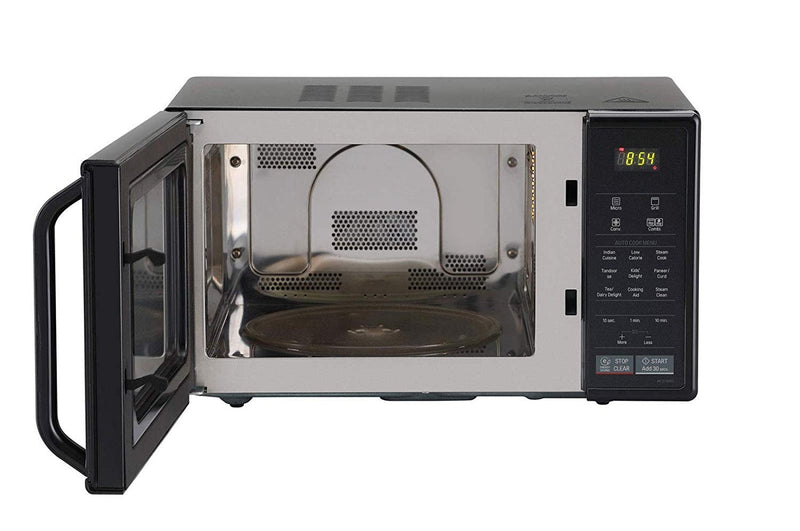 LG 21 L Convection Microwave Oven (MC2146BG, Glossy Black)