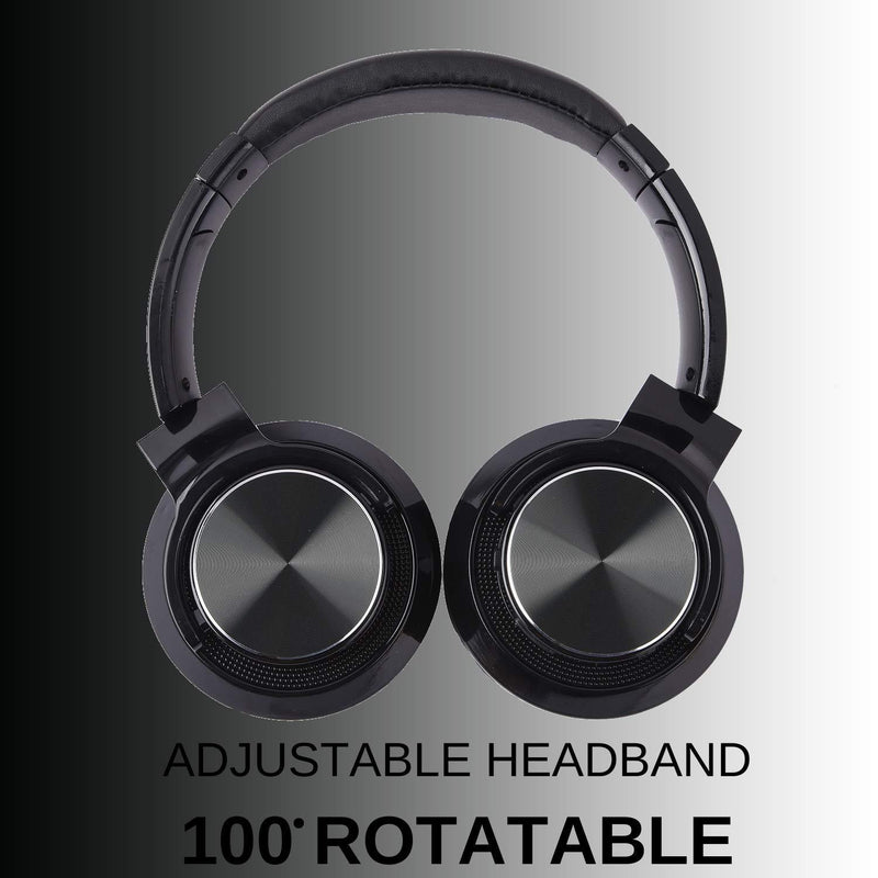 Roll over image to zoom in Fire-Boltt Blast 1300 On-Ear Metal Finish Bluetooth Headphone, 18-Hour Playtime, 40mm Driver with HD Sound & Ultra-Soft Ear Cushions - DefenceElectronics