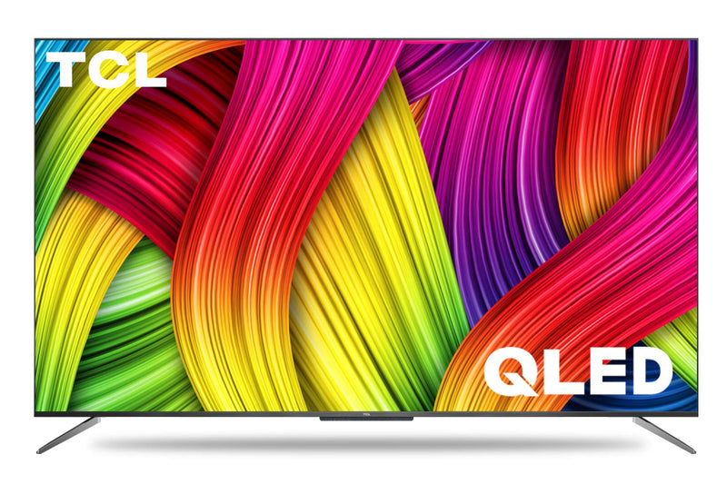 TCL 125.7 cm (50 inches) 4K Ultra HD Certified Android Smart QLED TV 50C715 (Metallic Black) (2020 Model) | with Voice Control