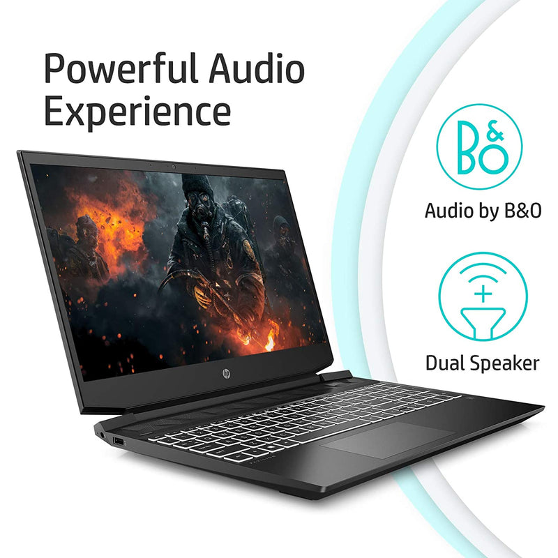HP Pavilion Gaming Ryzen 5 Quad Core - (8 GB/1 TB HDD/Windows 10 Home/4 GB Graphics/NVIDIA Geforce GTX 1650) 15-ec0100AX Gaming Laptop  (15.6 inch, Shadow Black, 2.04 kg)