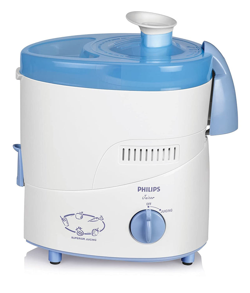 Philips HL1631 500 W Juicer Mixer Grinder  (Blue, 2 Jars)