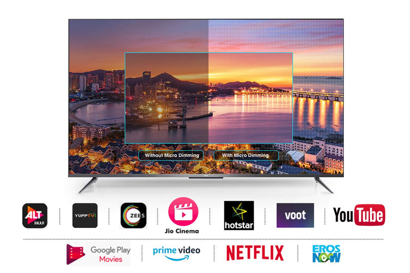 TCL 190cm (75 inch) Ultra HD (4K) LED Smart Android TV  (75P715)