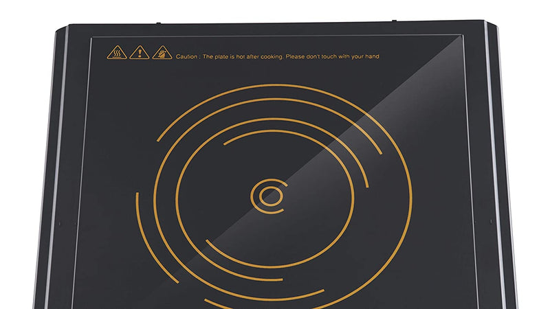 Bajaj Popular Ultra Induction Cooktop  (Black, Touch Panel)