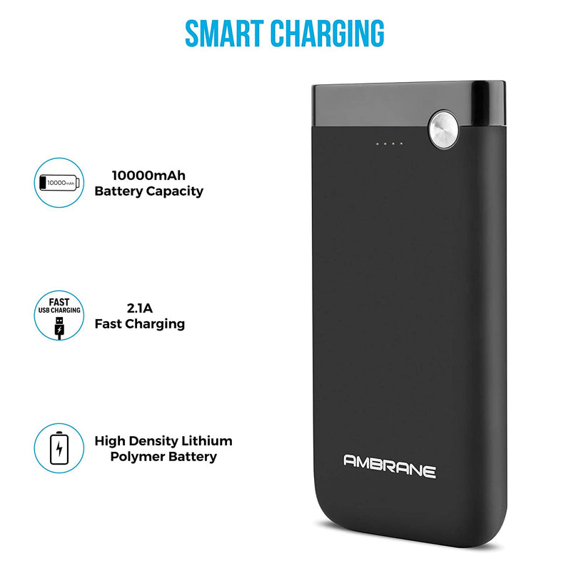 Ambrane  10000mAH  Power Bank