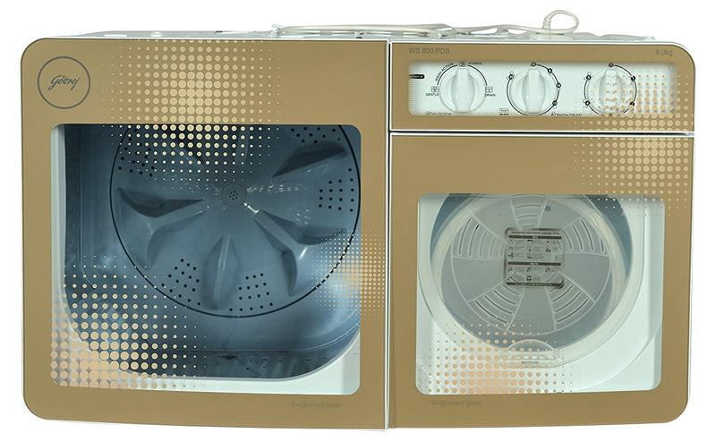 Godrej Semi Automatic WS 800 PDS Washing Machine-Gold Sprinkle - DefenceElectronics