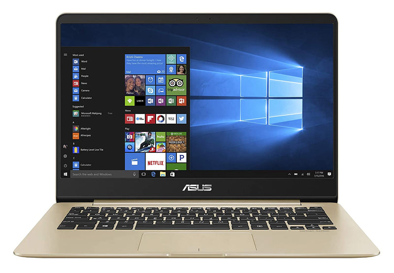 Asus ZenBook Core i5 8th Gen - (8 GB/256 GB SSD/Windows 10 Home) UX430UA-GV573T Thin and Light Laptop  (14 inch, Gold Metal, 1.3 kg)