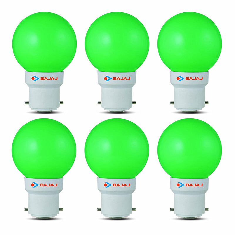 Bajaj Base B22 0.5-Watt Ping Pong Led Bulb