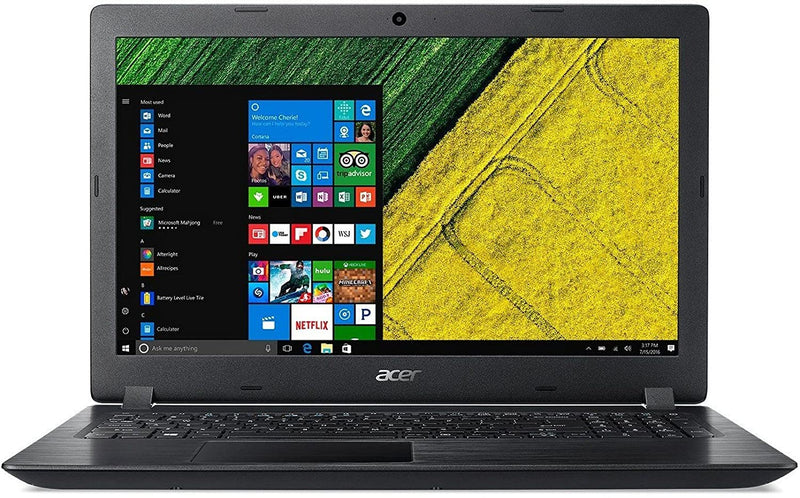 Acer Aspire 3 A315-51 15.6 Inch Laptop (Intel Core i3 (6th Gen)/4 GB/1 TB HDD/15.6(39.62 cm)/Windows 10/Integrated Graphics), Black