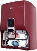 LG WW130NP 8 L RO Water Purifier With Dual Protection Stainless Steel Tank, Wall Mount  (Red)