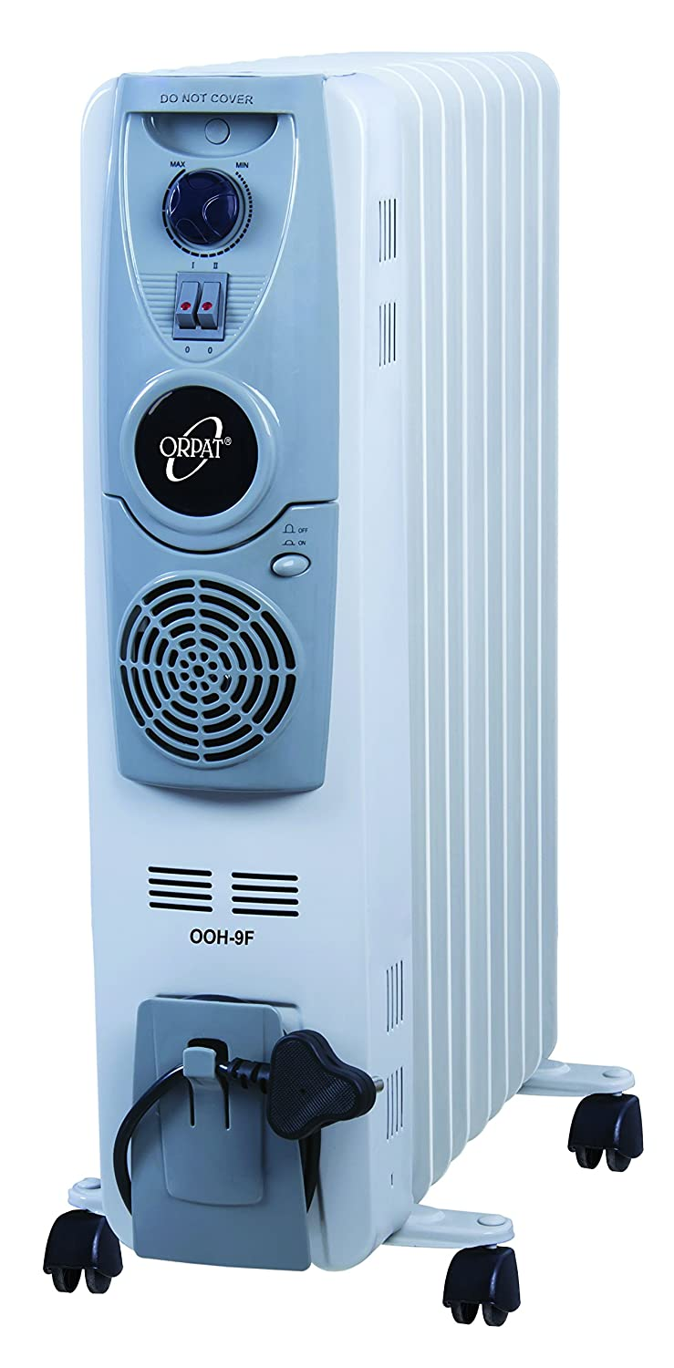 Orpat OOH-9F Oil Filled Room Heater