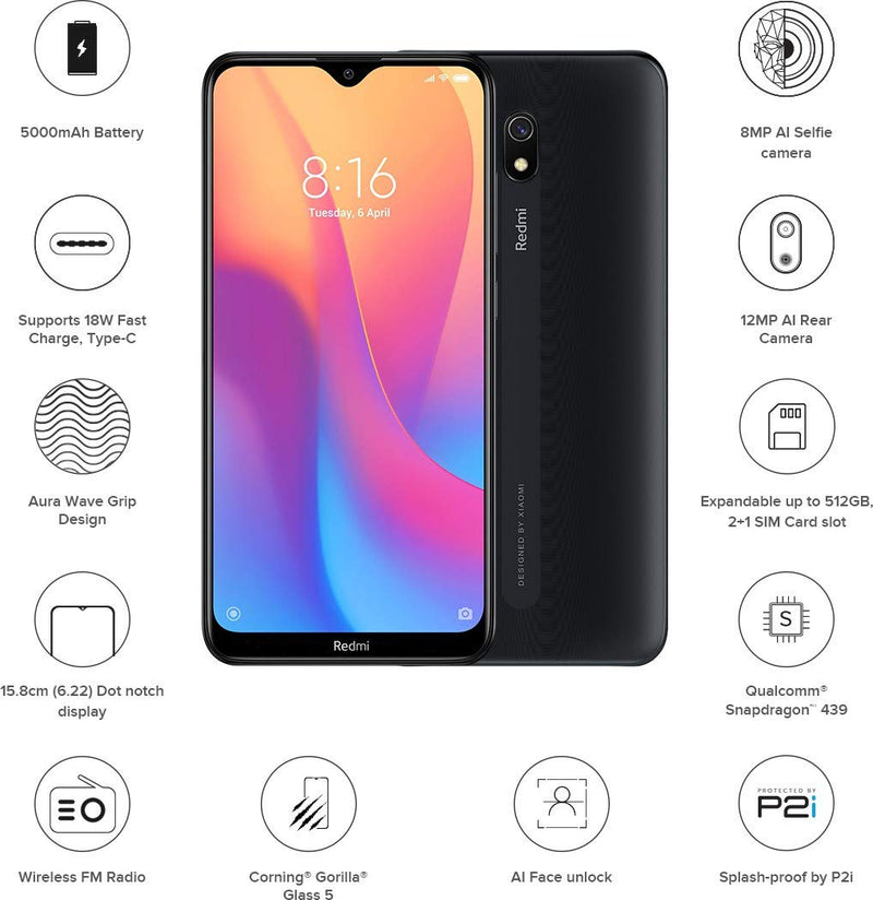 Redmi 8A (3 GB + 32 GB)