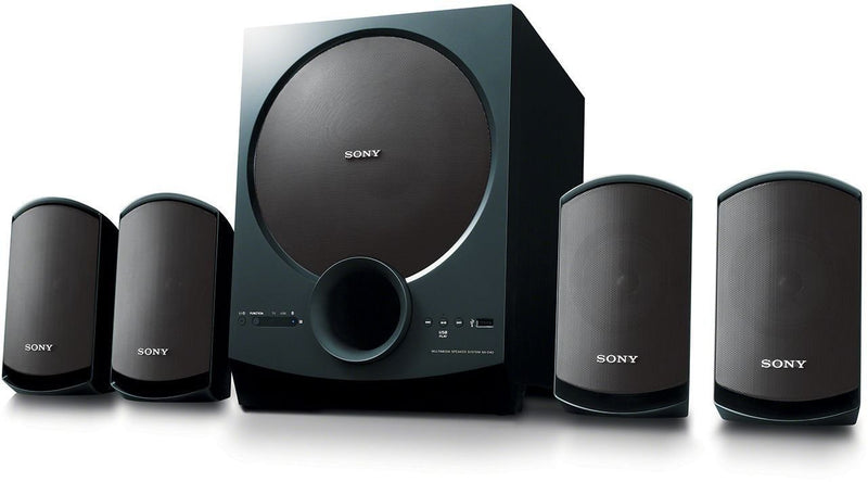 Sony SA-D40 80 W Bluetooth Home Theatre  (Black, 4.1 Channel) - DefenceElectronics