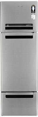 Whirlpool 330 L Frost Free Multi-Door Refrigerator (FP 343D PROTTON ROY ALPHA STEEL - DefenceElectronics