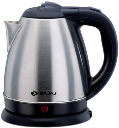 Bajaj 1.2L SS Electric Kettle  (1.2 L, STEEL) - DefenceElectronics