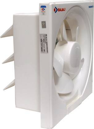 Bajaj Maxima DxI 200 mm 200 mm 5 Blade Exhaust Fan  (White, Pack of 1) - DefenceElectronics