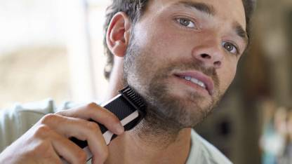 Philips Beard Trimmer BT3201/15 Runtime: 30 min Trimmer for Men  (Silver, Black)