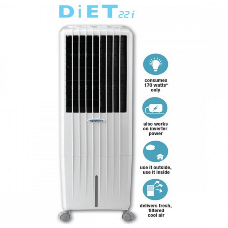 Symphony Diet 22i Air Cooler 22-litres,