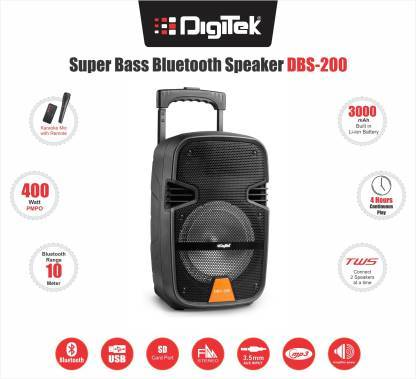 Digitek DBS 200 10 W Bluetooth Home Theatre - DefenceElectronics