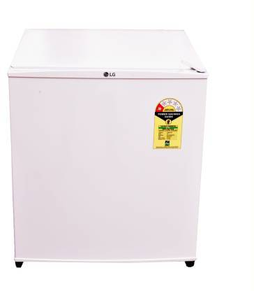 LG 45 L Direct Cool Single Door 1 Star (2019) Refrigerator  (Super White, GL-051SSW) - DefenceElectronics