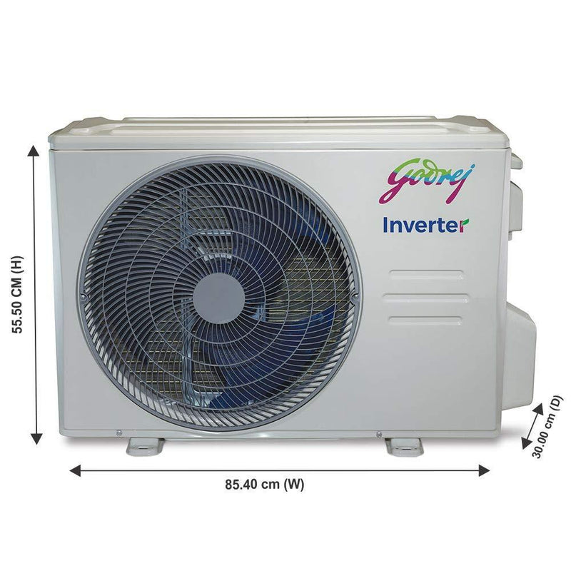 Godrej 1.5 Ton 5 Star Inverter Split AC (Copper GIC 18HTC5-WTA) - DefenceElectronics