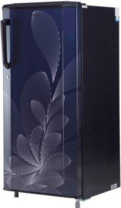 Haier 190 L Direct Cool Single Door 3 Star (2019) Refrigerator  (Marine Ornate, HRD-1903BMO-E) - DefenceElectronics