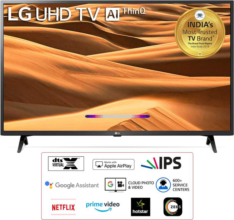 LG 127cm (50 inch) Ultra HD (4K) LED Smart TV  (50UM7300PTA)