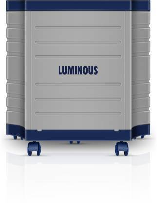 Luminous Tough X Battery Trolley Trolley for Inverter and Battery  (Grey) - DefenceElectronics