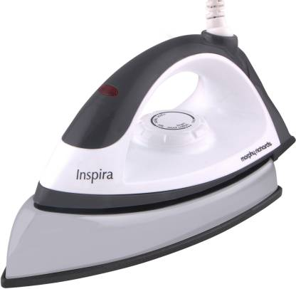 Morphy Richards Inspira 1000 W Dry Iron  (White and Black)