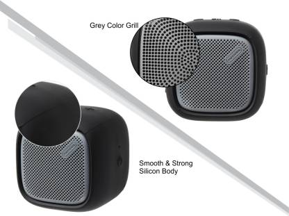 Portronics POR-939 Portable Bluetooth Speaker with FM (Black) 5 W Bluetooth Speaker  (Black, Stereo Channel)