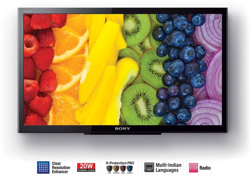 Sony 59.9cm (24 inch) HD Ready LED TV  (KLV-24P413D)