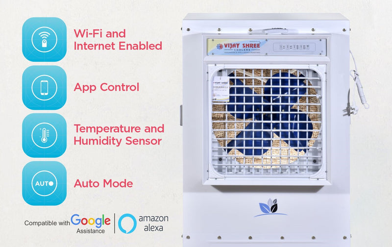 VIJAYSHREE PLASTIC  VS-07 IOT ENABLED DESERT COOLER