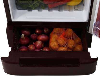 Whirlpool 185 L Direct Cool Single Door 3 Star Refrigerator with Base Drawer  (Wine Orbit, 200 Icemagic Powercool ROY)